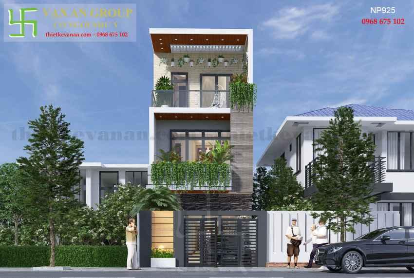 Nhà phố hiện đại đẹp tại thành phố biển Vũng Tàu NP 9251