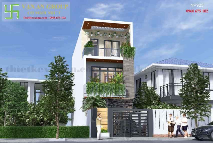 Nhà phố hiện đại đẹp tại thành phố biển Vũng Tàu NP 9253