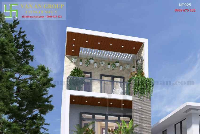 Nhà phố hiện đại đẹp tại thành phố biển Vũng Tàu NP 9254