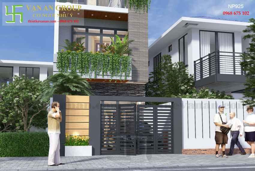 Nhà phố hiện đại đẹp tại thành phố biển Vũng Tàu NP 9255