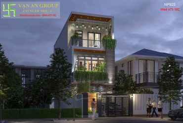 Nhà phố đẹp 3 tầng được yêu thích nhất hiện nay