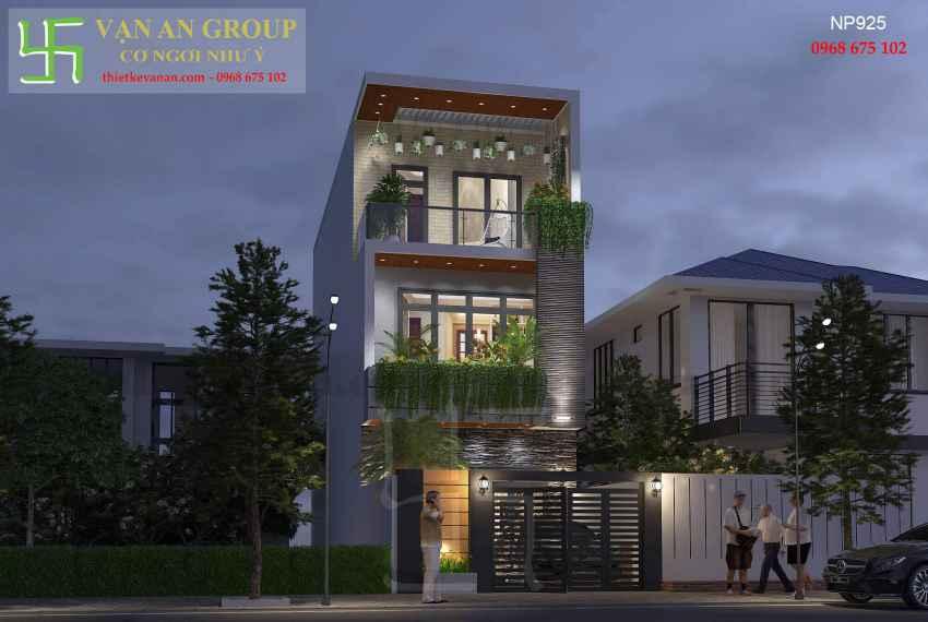 Nhà phố hiện đại đẹp tại thành phố biển Vũng Tàu NP 9258