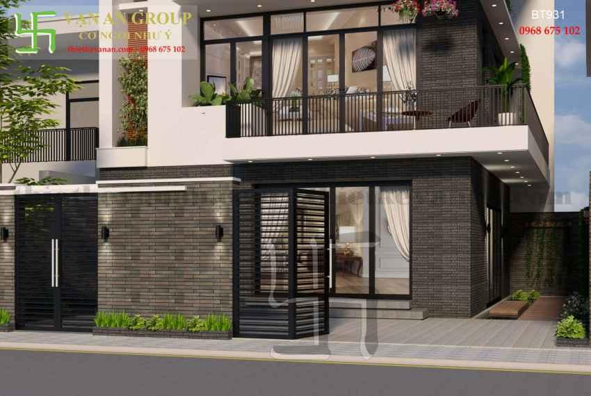 Thiết kế nhà đẹp kiến trúc hiện đại tại Thanh Khê, Đà Nẵng BT 9315