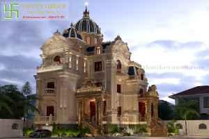 Share free thiết kế lâu đài đẹp lộng lẫy 3dsmax LD02