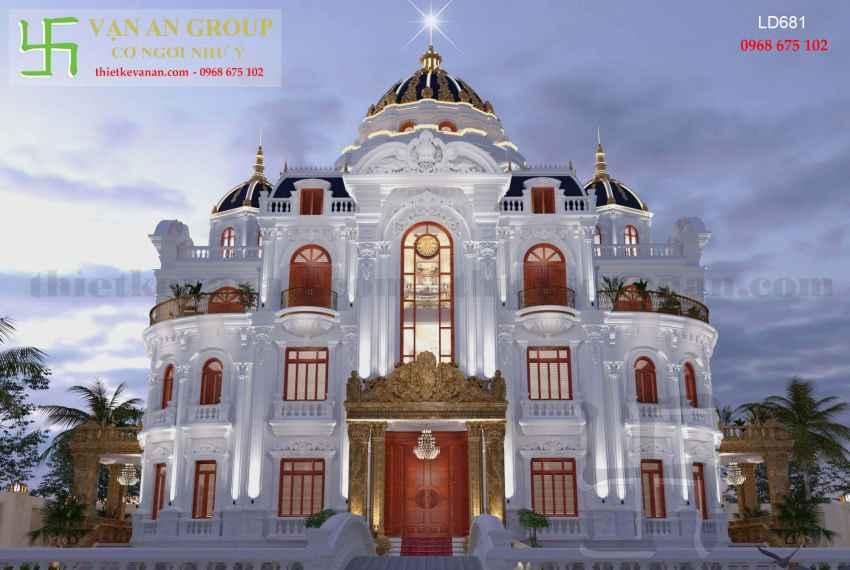 lâu đài pháp đẹp
