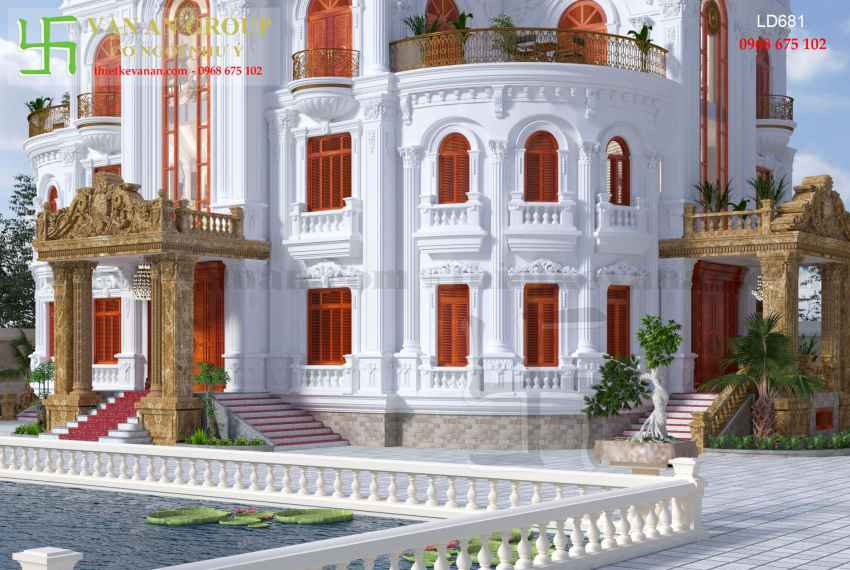 Lâu đài lộng lẫy và tráng lệ bậc nhất tại Hải Hậu, Nam Định LD 6819