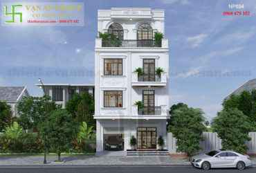 Nhà phố 4 tầng đẹp lung linh tại Q. Liên Chiểu, Đà Nẵng
