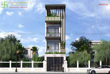 Nhà phố 4 tầng đẹp lung linh tại Tân Thịnh, Hòa Bình