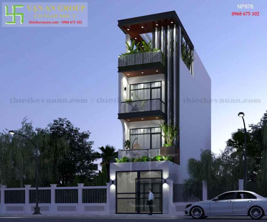 Nhà phố 4 tầng đẹp lung linh tại Tân Thịnh, Hòa Bình NP 97610
