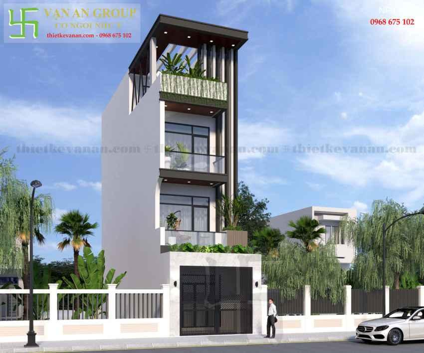 Nhà phố 4 tầng đẹp lung linh tại Tân Thịnh, Hòa Bình NP 9764