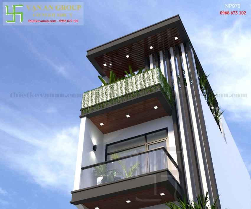 Nhà phố 4 tầng đẹp lung linh tại Tân Thịnh, Hòa Bình NP 9766