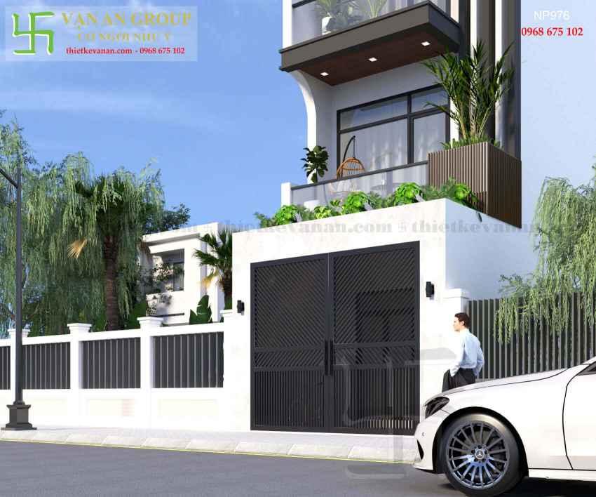 Nhà phố 4 tầng đẹp lung linh tại Tân Thịnh, Hòa Bình NP 9767