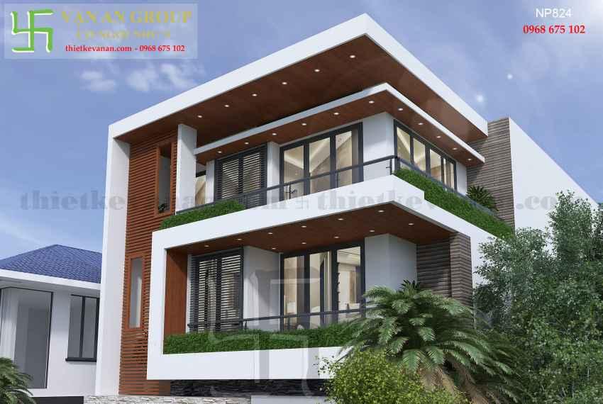 Nhà phố hiện đại 3 tầng đẹp tại Tp Phan Rang, Ninh Thuận NP 8244