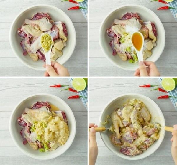 Nguyên liệu cho món vịt nấu chao 27112