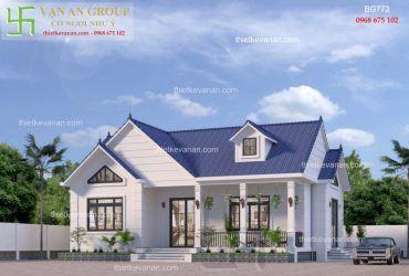 Nhà đẹp cấp 4 kiến trúc mái thái vạn người mê