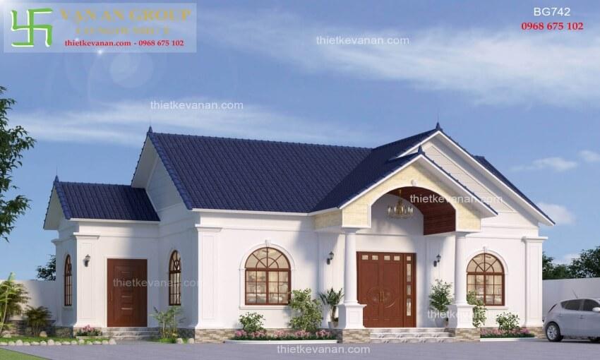 Nhà cấp 4 đẹp lung linh thiết kế vạn an group 2712197421