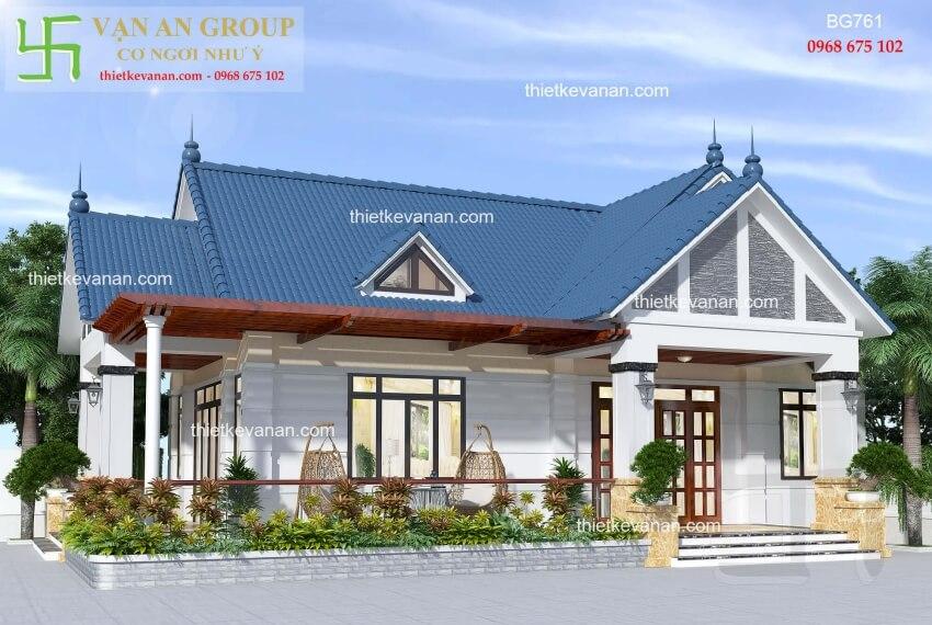 Nhà cấp 4 đẹp lung linh thiết kế vạn an group 2712197611