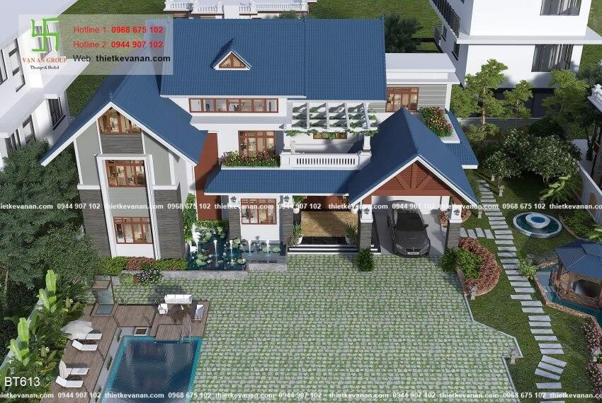 Thiết kế biệt thự nhà vườn đẹp và 1200+ Mẫu biệt thự đẹp Thiết kế Vạn An Group 26126131