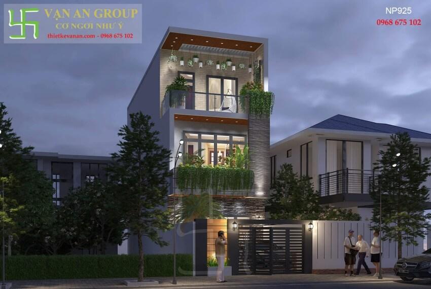 Giới thiệu chung về thương hiệu thiết kế nhà phố hiện đại đẹp 2501925