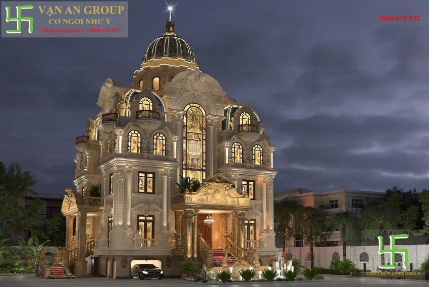 Giới thiệu chung về thương hiệu thiết kế lâu đài Vạn An Group 2501722