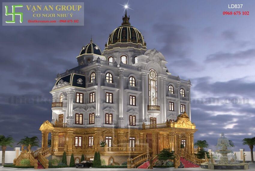 Giới thiệu chung về thương hiệu thiết kế lâu đài đẳng cấp 2801837