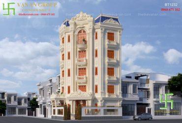 Thiết kế biệt thự cao cấp kiến trúc tân cổ điển đẹp lộng lẫy
