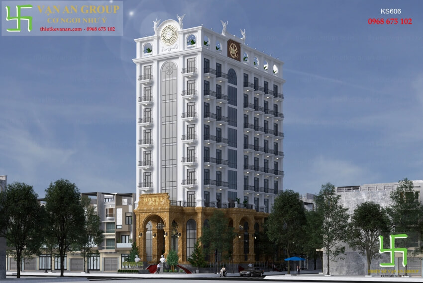 Thiết kế khách sạn 3 sao thiết kế vạn an group 2001606