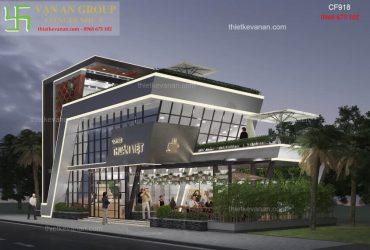 Thiết kế quán cafe đẹp lung linh, cuốn hút mọi du khách CF 918
