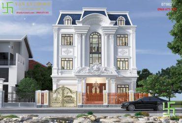 Biệt thự cổ điển kiến trúc Pháp đẹp lộng lẫy
