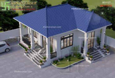 Nhà cấp 4 mái Thái đẹp mê mẩn và +1000 mẫu nhà