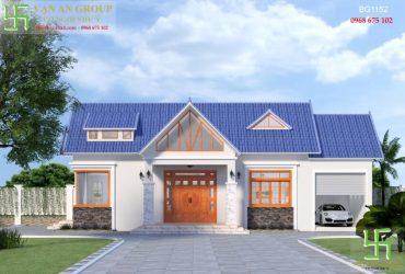Mẫu nhà cấp 4 đẹp giá rẻ kiến trúc mái thái