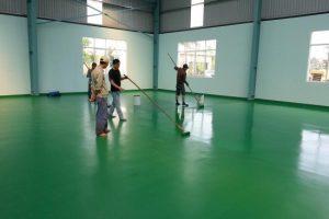 Thi công sơn epoxy chuẩn kỹ thuật và chất lượng