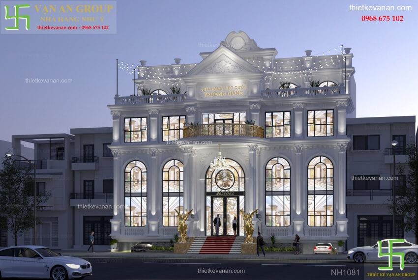 Thiết kế nhà hàng tiệc cưới đẹp lộng lẫy 10811