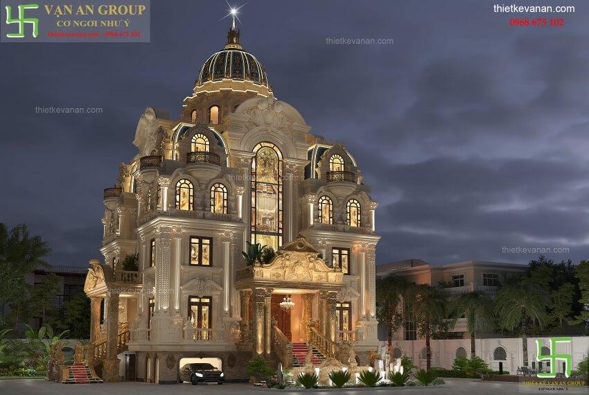 công ty thiết kế lâu đài