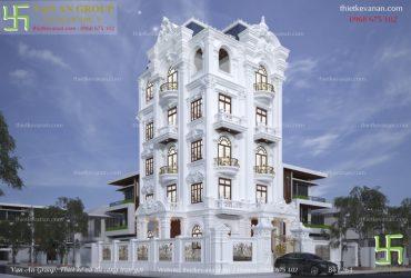 Nhà 5 tầng đẹp cuốn hút nhất hiện nay BT 1264