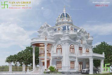 Lâu đài đại gia Thái Bình đẹp lộng lẫy LĐ 1274