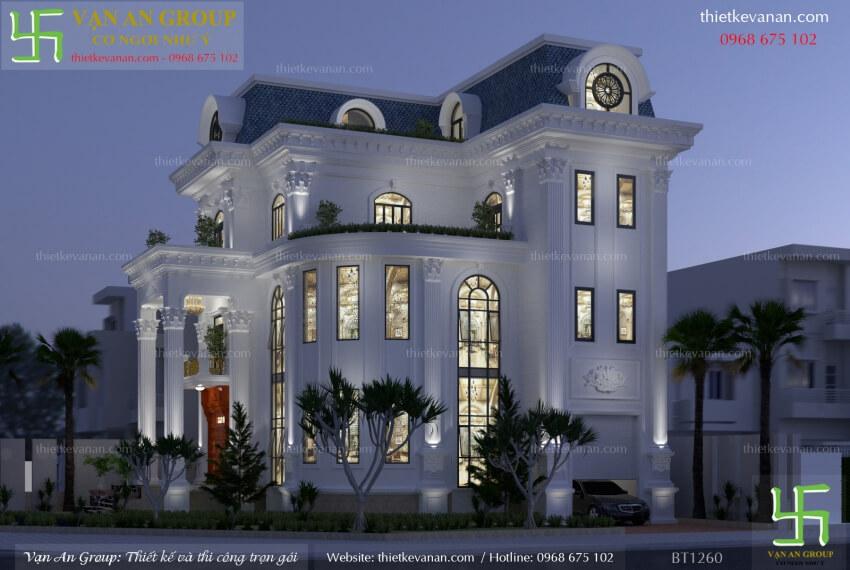 nhà đẹp theo phong cách châu âu