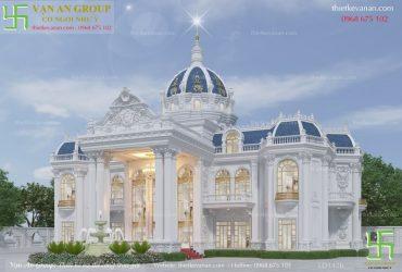 Thiết kế lâu đài 2 tầng đẹp ngẩn ngơ LD 1426