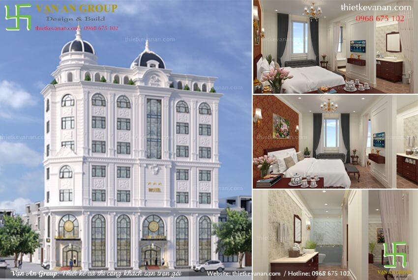 công ty chuyên thiết kế khách sạn