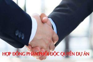 Mẫu hợp đồng phân phối độc quyền dự án bất động sản