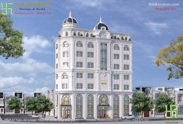Thiết kế khách sạn mini đạt chuẩn 2 sao đẹp lộng lẫy