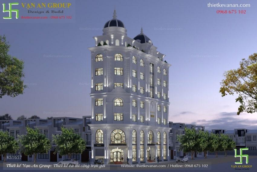 thiết kế khách sạn mini hiện đại