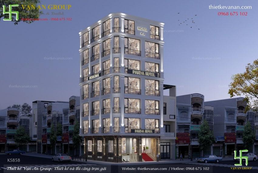 mẫu thiết kế chung cư mini