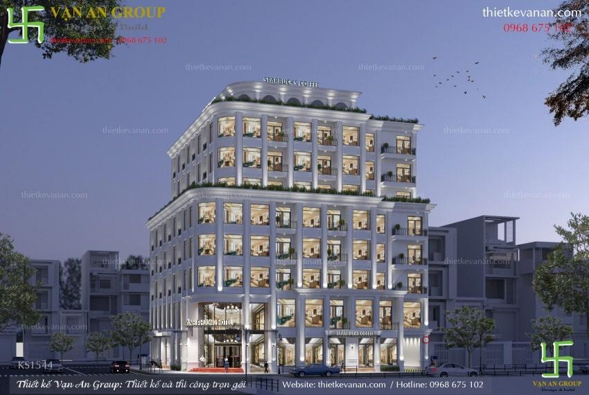 mẫu thiết kế khách sạn 3 sao