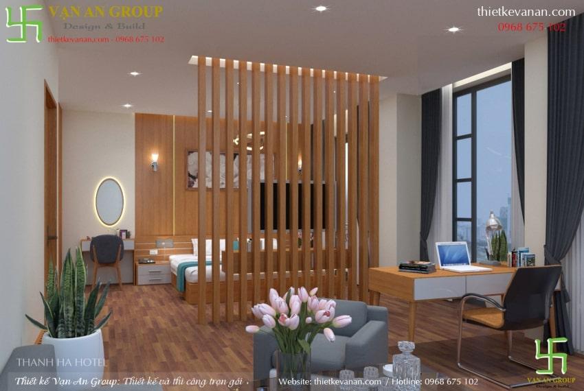 thiết kế phòng master khách sạn