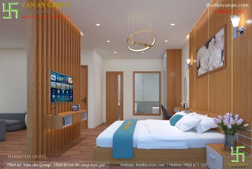 thiết kế nội thất phòng vip khách sạn