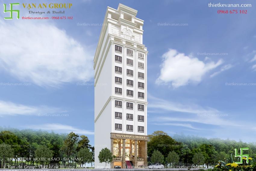 công ty chuyên thiết kế khách sạn 4 sao