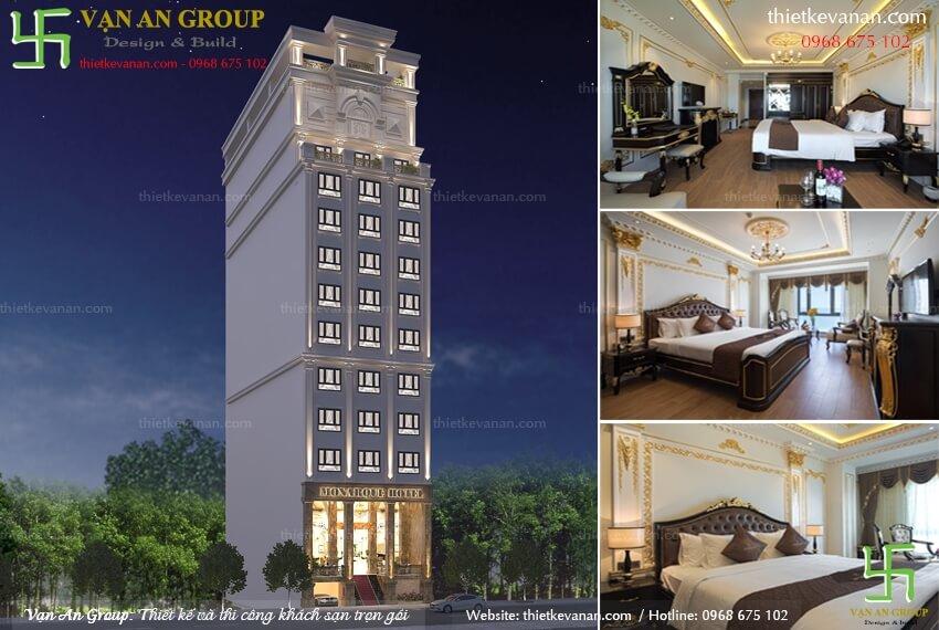 công ty thiết kế khách sạn 4 sao
