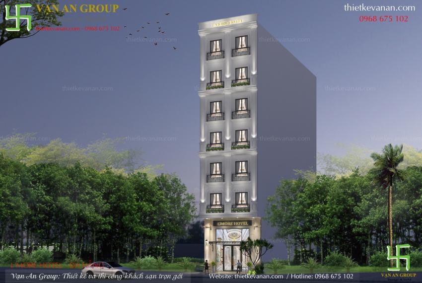 công ty thiết kế khách sạn mini đẹp