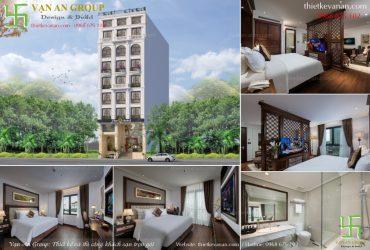 Thiết kế khách sạn 4 sao tại Hà Nội đẳng cấp Châu Âu